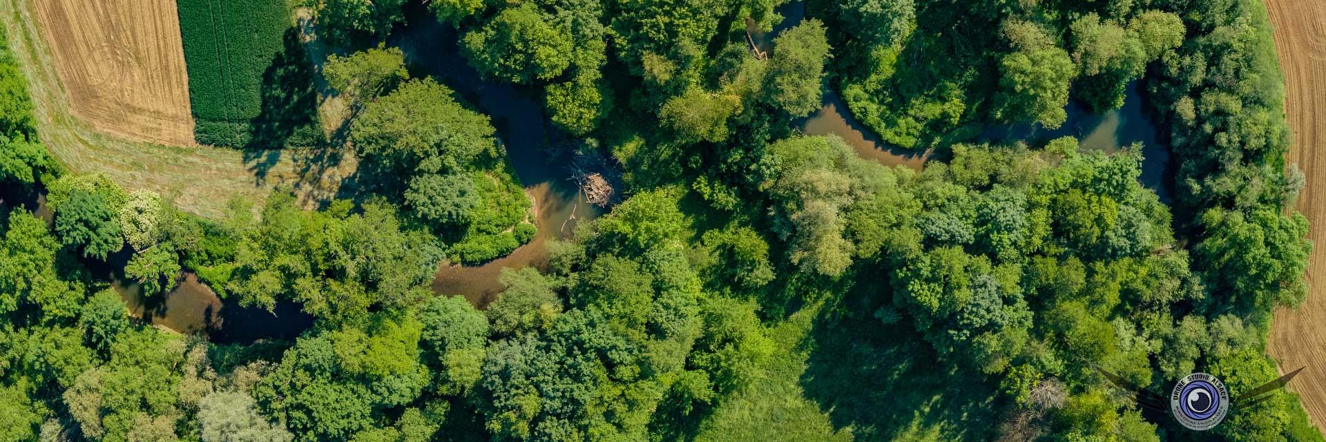 Photo et video par drone alsace mulhouse cernay colmar meandre ill