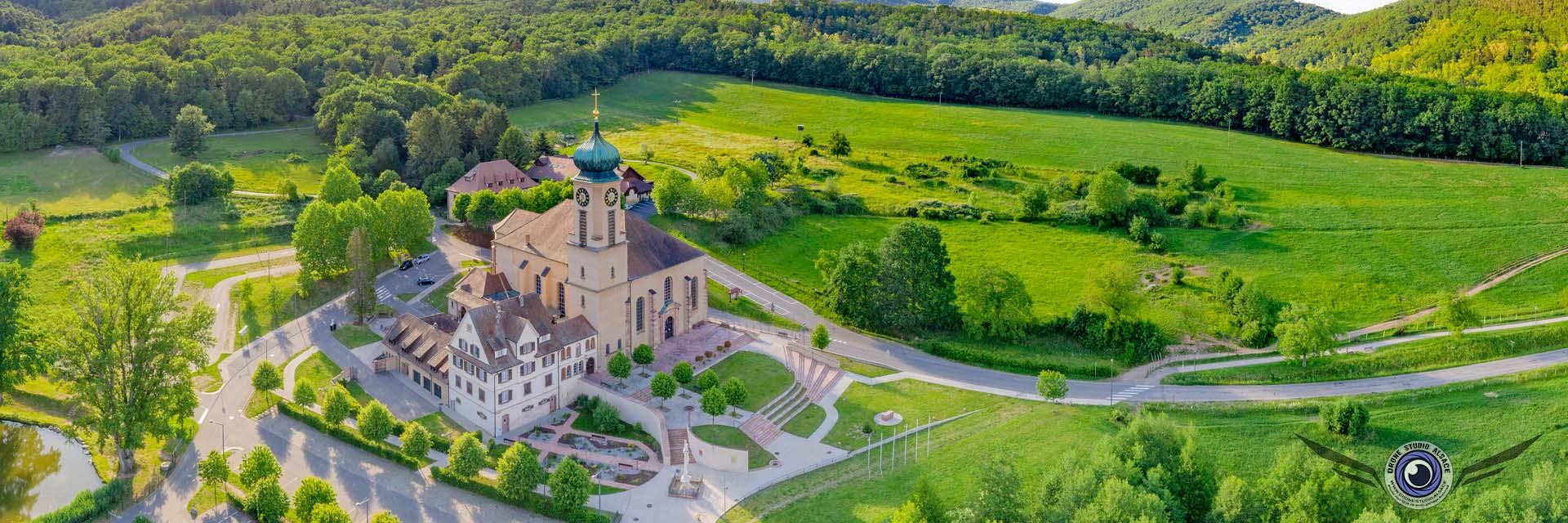 Photo et video par drone alsace mulhouse cernay colmar thierenbach