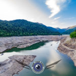 lac de Kruth vue depuis un drone