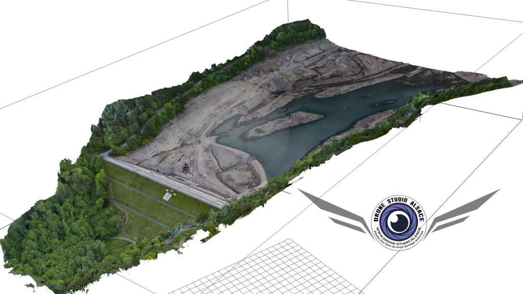 Drone BTP agriculture Alsace photogrametrie 3D