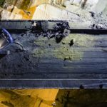 photo et video par Drone mulhouse alsace chantier de nuit