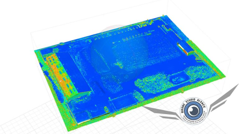 Drone BTP agriculture Alsace photogrammetrie 3D
