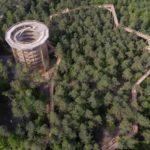 Chemin des cimes Drachenbron drone video