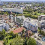 Suivi de chantier par drone logements