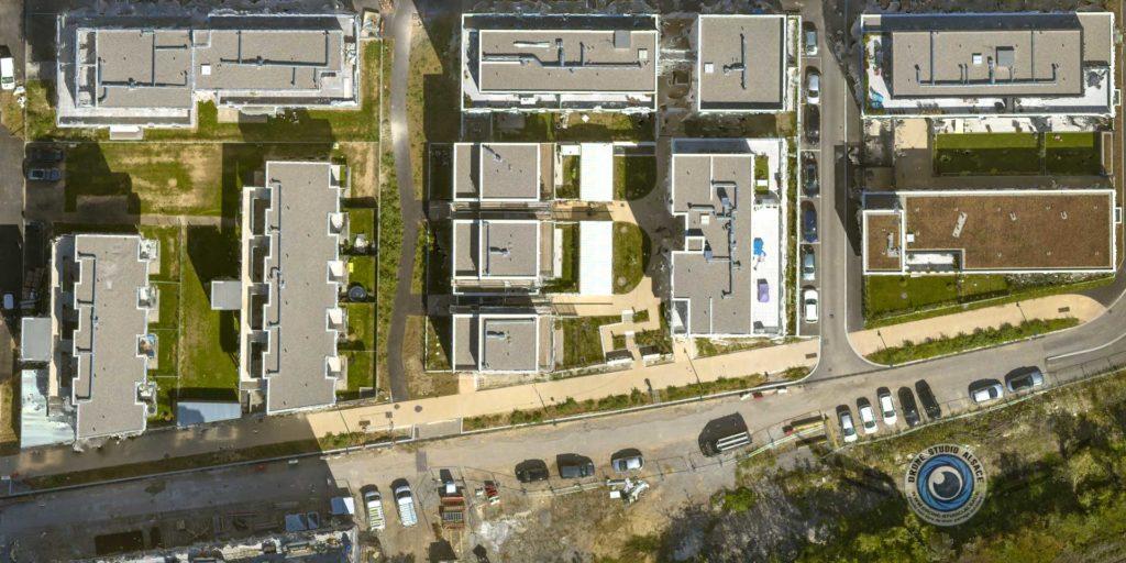 photogrammetrie et suivi de chantier par drone en alsace